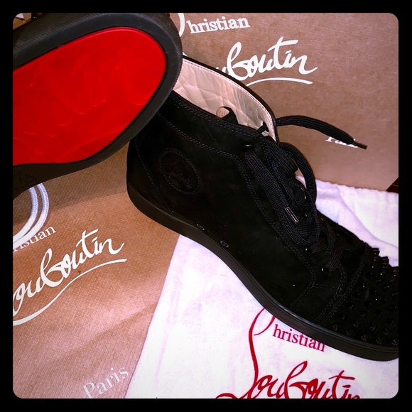 993a1a02e2b Christian Louboutins Blk Suede *Reduced* (US 13)